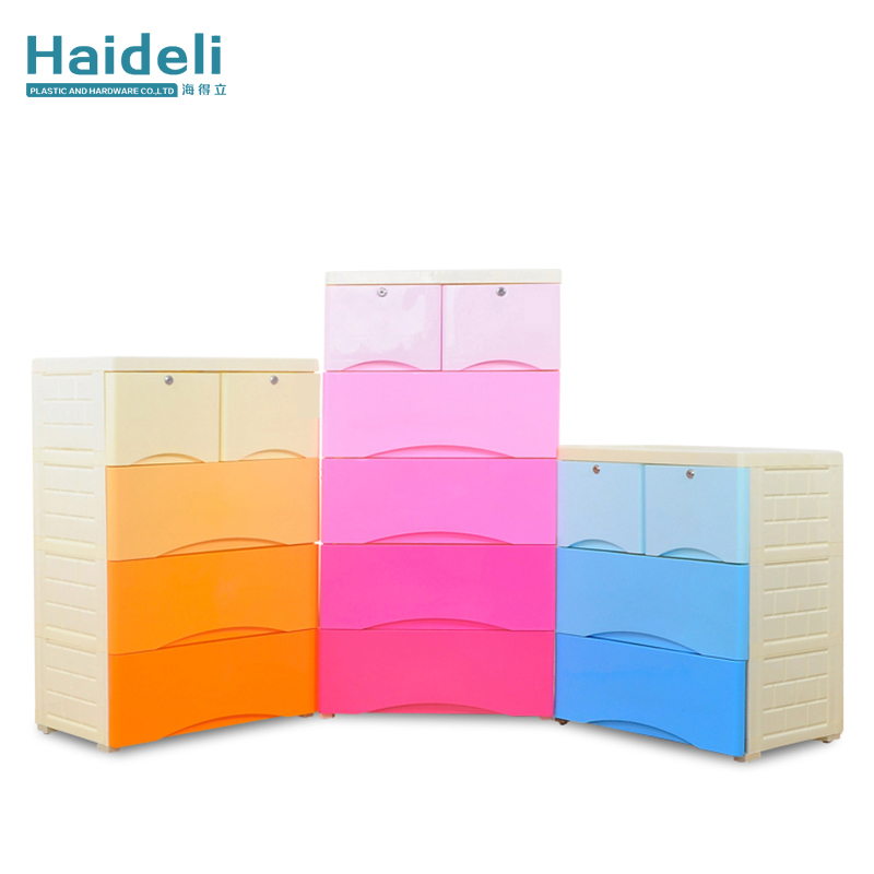 4 Drawer Plastic Cabinet