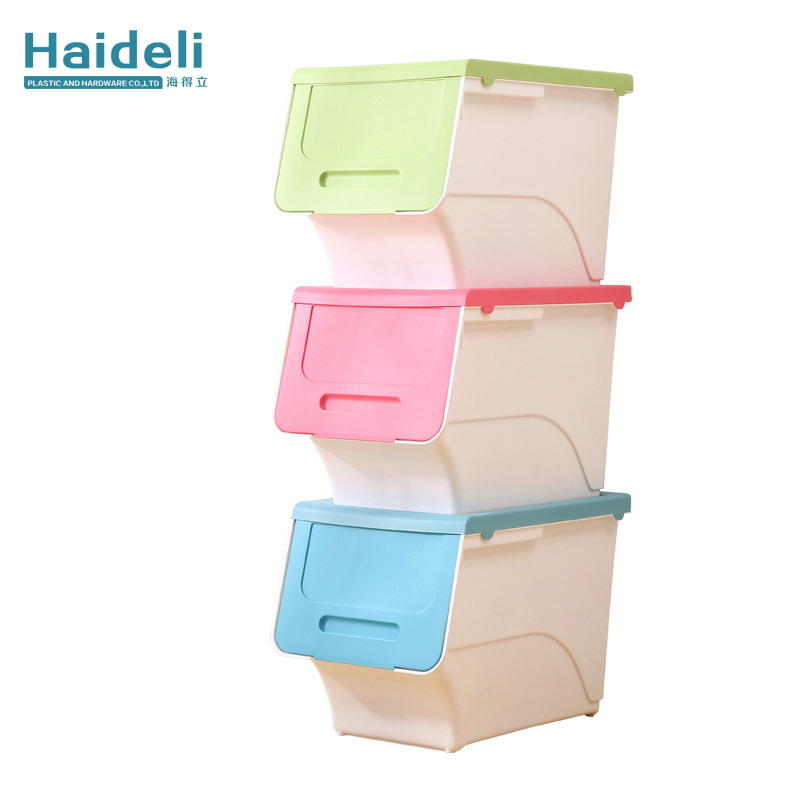 Plastic Stackable Storage Bins