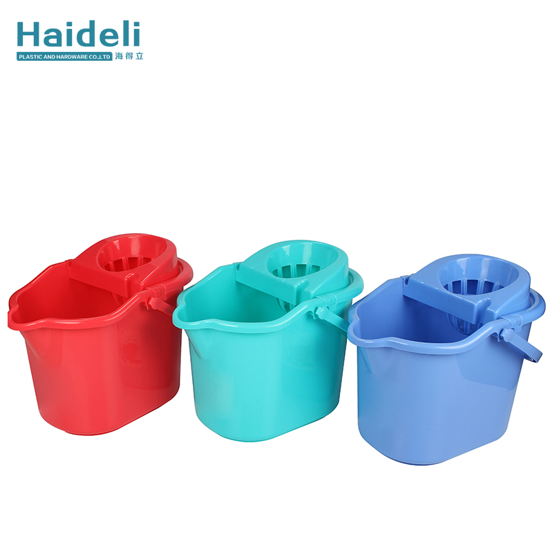 Long Handle Floor Cleaning Mop Bucket