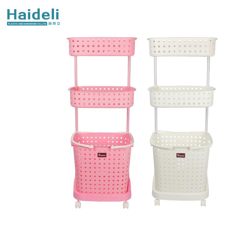 Plastic Washing Basket With Handles