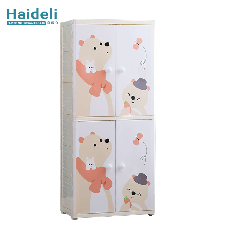 Cartoon New Design Babyroom Clothes Cabinet