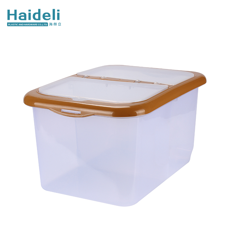 Transparent Plastic Storage Box With Cover Portable Multi-Function Storage Box
