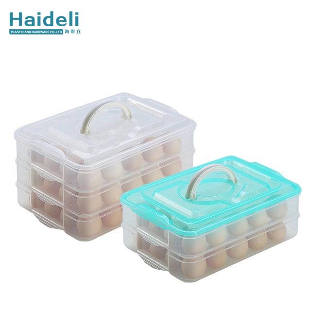 Transparent Plastic Egg Storage Box Egg Preserved Egg Tray