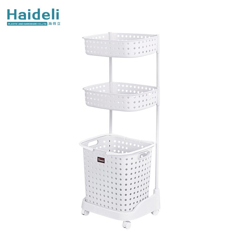 Bathroom Plastic Shelf Bathroom Washbasin Stand