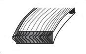R Type Spiral Wound Gasket