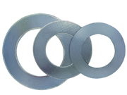 Graphite Gasket Reinforced with Tanged metal insertion