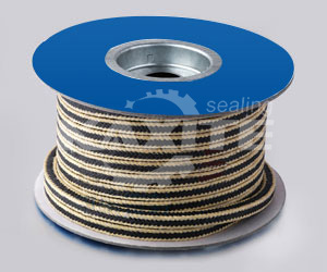PTFE Packing With Kevlar Fiber Corner