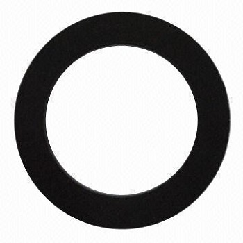 Black Natural Rubber Gasket