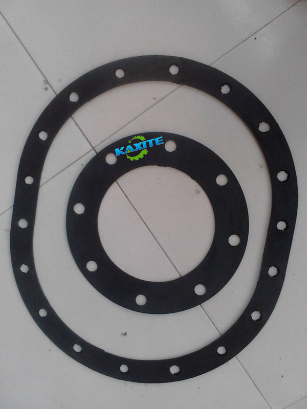 flange rubber gasket made for Italy customer