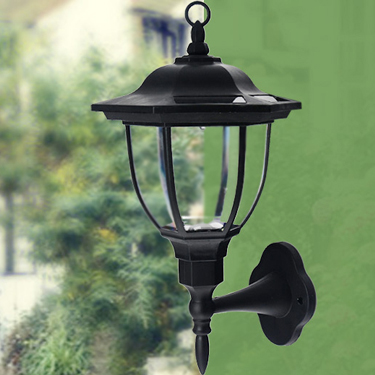 Solar Powered Decorative Wall Lamp