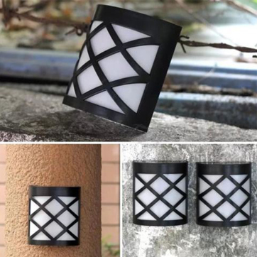 Solar Garden Wall Light