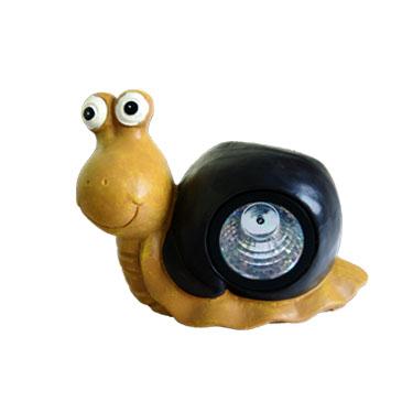 Solar Snail Resin Lampe