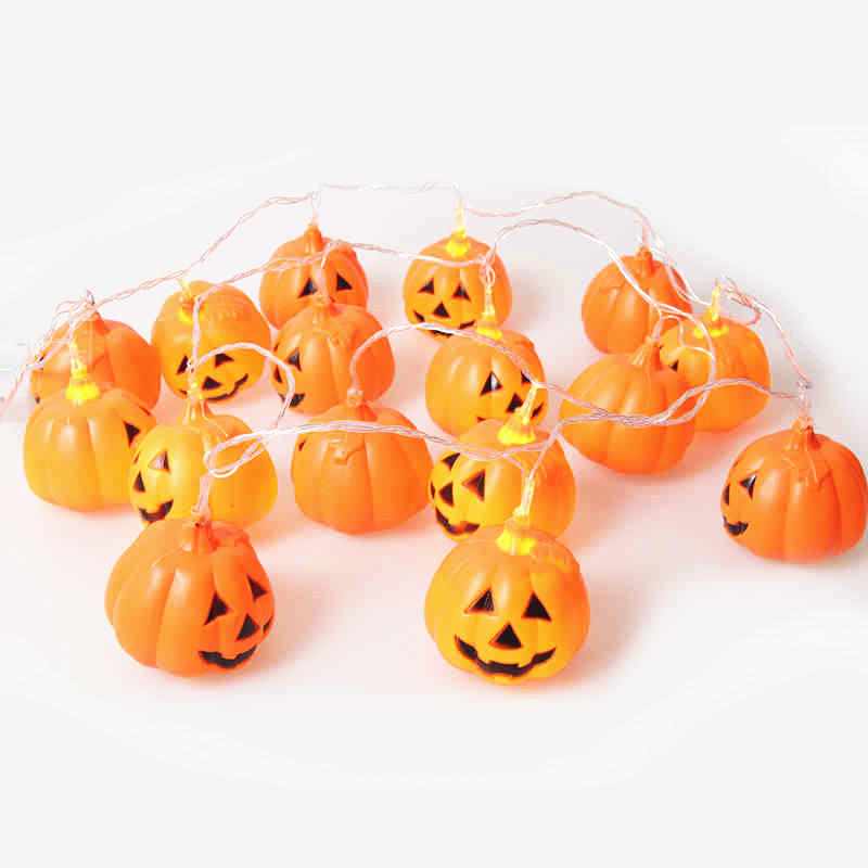 Solar Pumpkin String Light