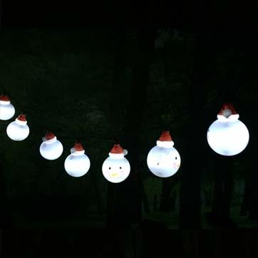 Luce della stringa della festa di Natale