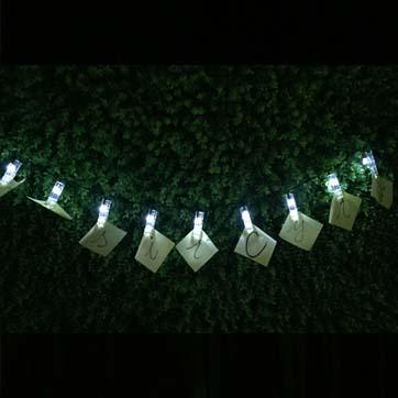 Solar Nummer String Light
