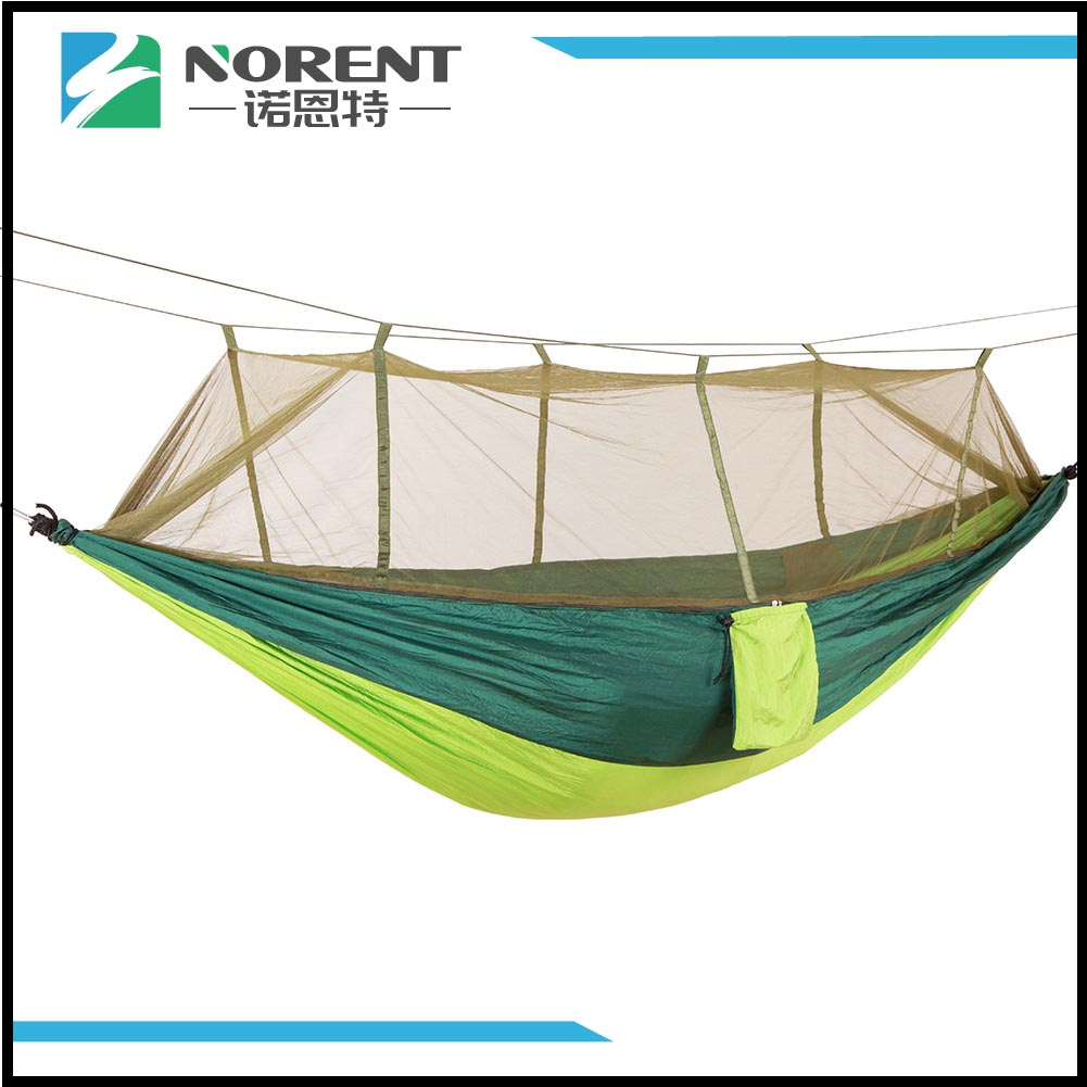 Compatto portatile Travel Camping Hammock Dark Green Spell