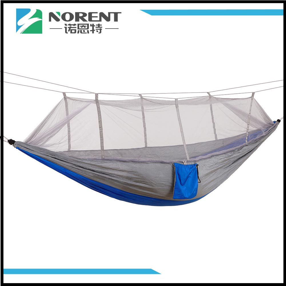 Portable Compact Travel Camping Hammock Grey Collage