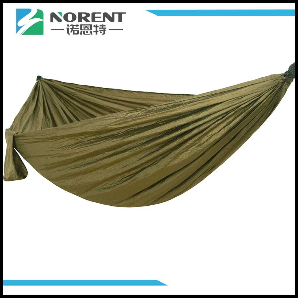 Camping Leichte Nylon Hängematte Army Green