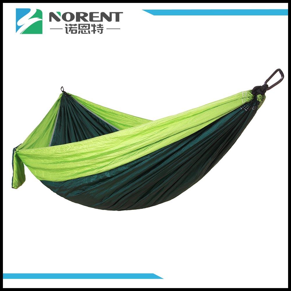 Camping Lightweight Nylon Hengekøye Grønn grønn kamp