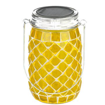solar mason jar hanging lights