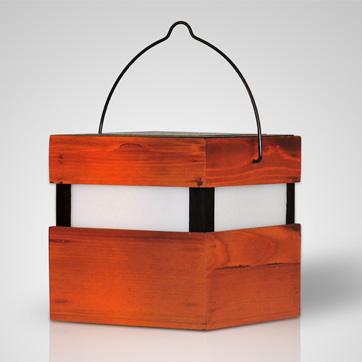 luce solare in legno