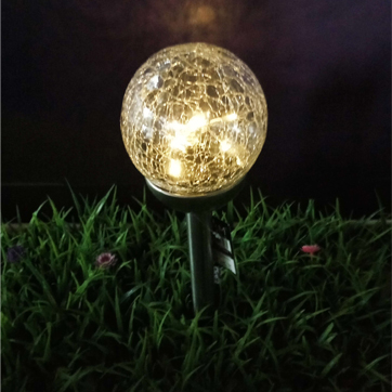 solarglas ball string light