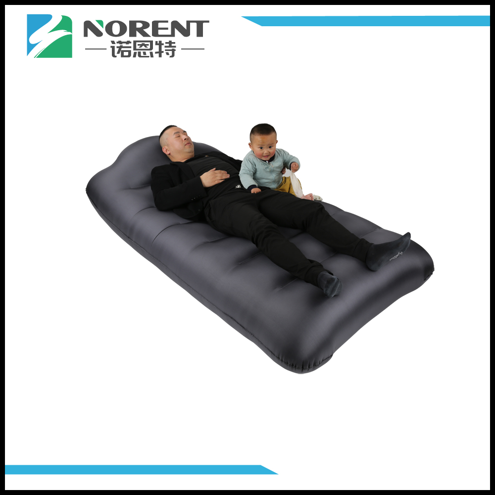 Nylon Inflatable Camping Bed