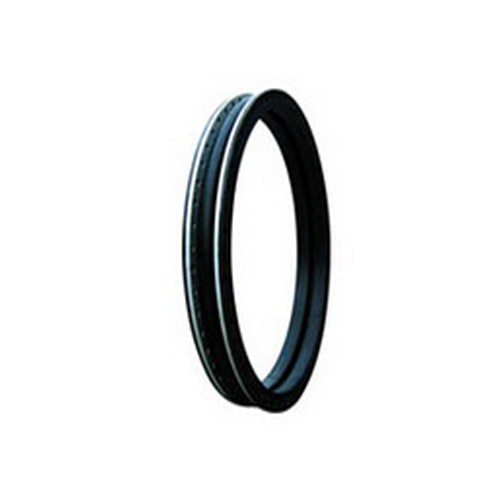 Spool flange rubber joint