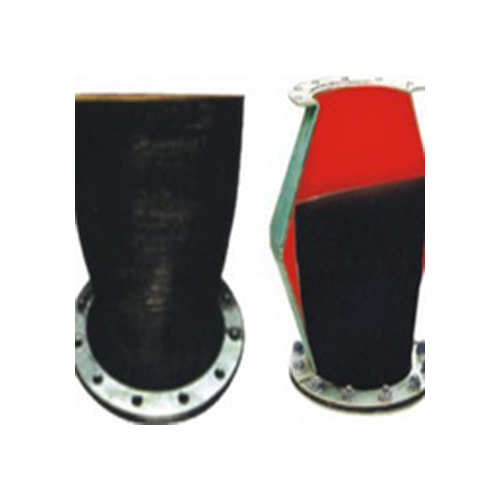 rubber check valve flanged