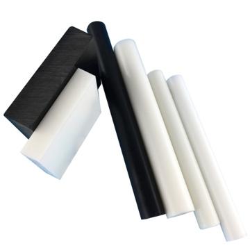 White POM C Acetal Material Plastic Rod