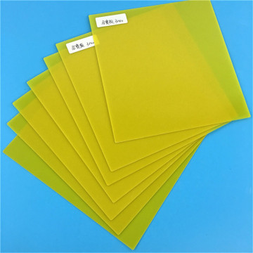 Yellow 3240 Epoxy Glass Resin Feber Plate