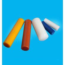 Colored cast polyurethane material rod