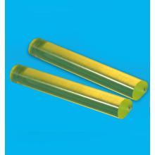 Transparent yellow PU bar