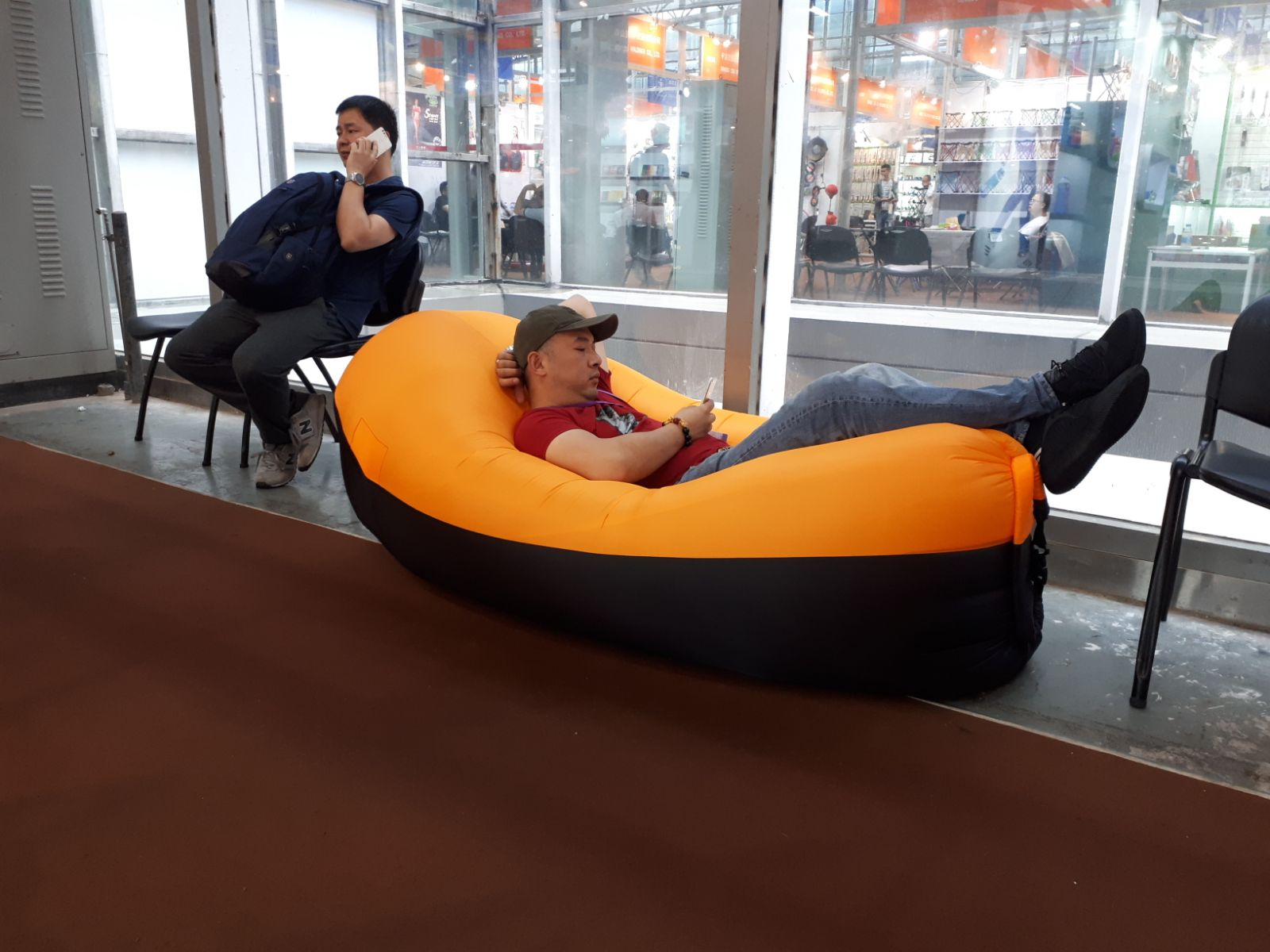 The Best Ad. of Inflatable Air Loungers  Is We Are Using It
