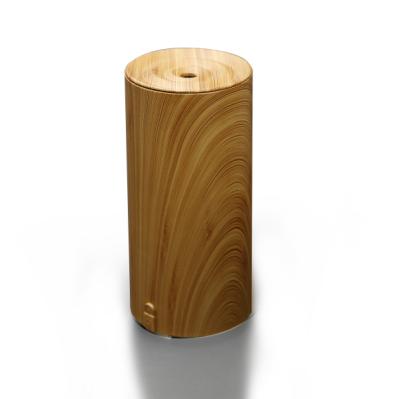 Реальный бамбуковый эссенциальный масляный диффузор Ультразвуковой диффузор Аромотерапия Прохладный рассеиватель диффузии тумана