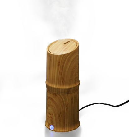 300ml Cool Mist Humidifier Ultralyd Aroma Essential Oil Diffuser til Office Home Bedroom Living Room Studie Yoga Spa - Trækorn