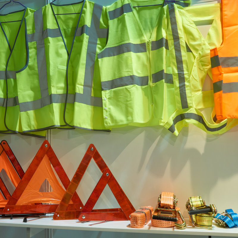 Safe Vests Are Used Extensively