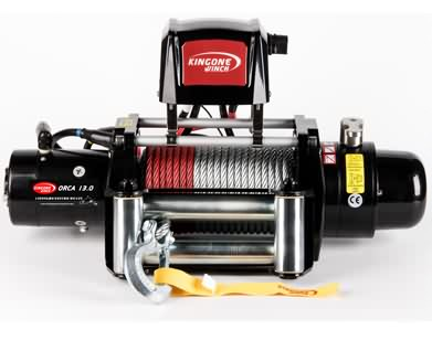 Truck Electric Winch With 13000lb Pulling Capacity