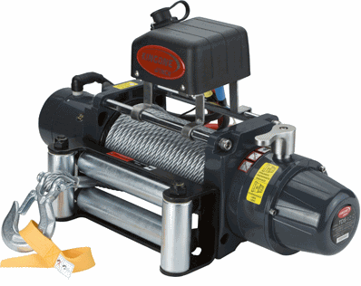 Ac Powered Electric Winch