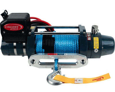 portable 4wd winch