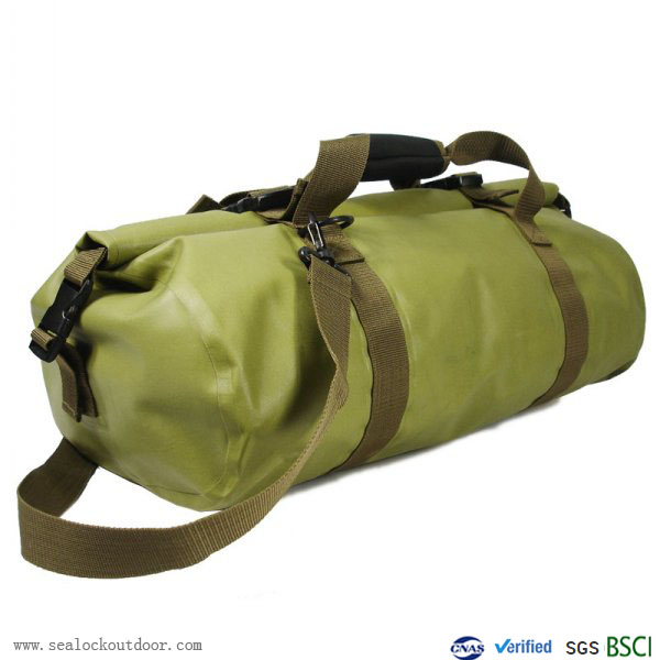 четиресет и пет литра зелен Водоустойчив екип чанта