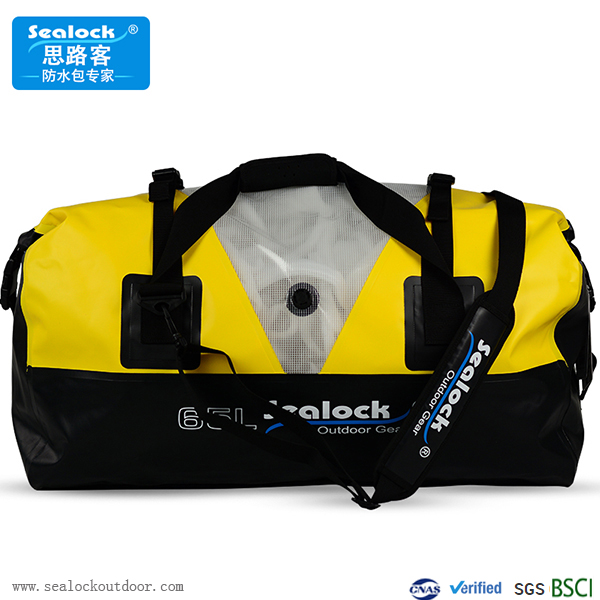 80Liter Waterproof Duffel Bag With Pvc