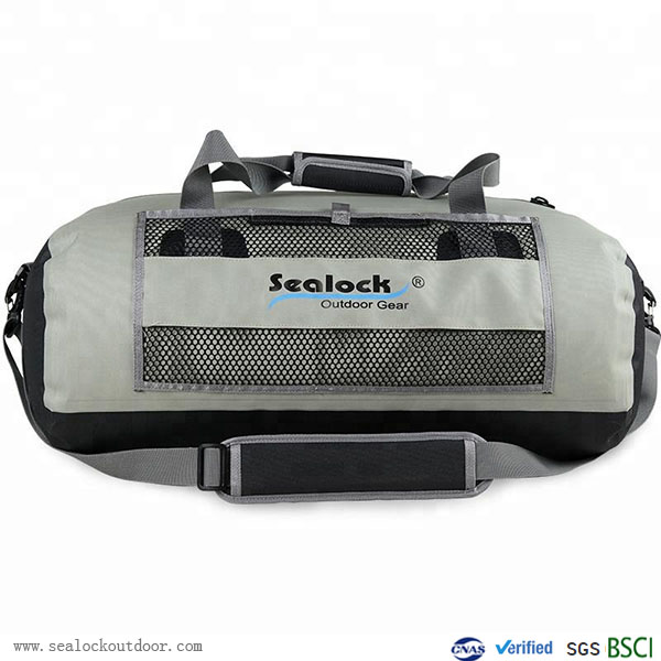 60L Waterproof Travel Bag With Airtight Zipper