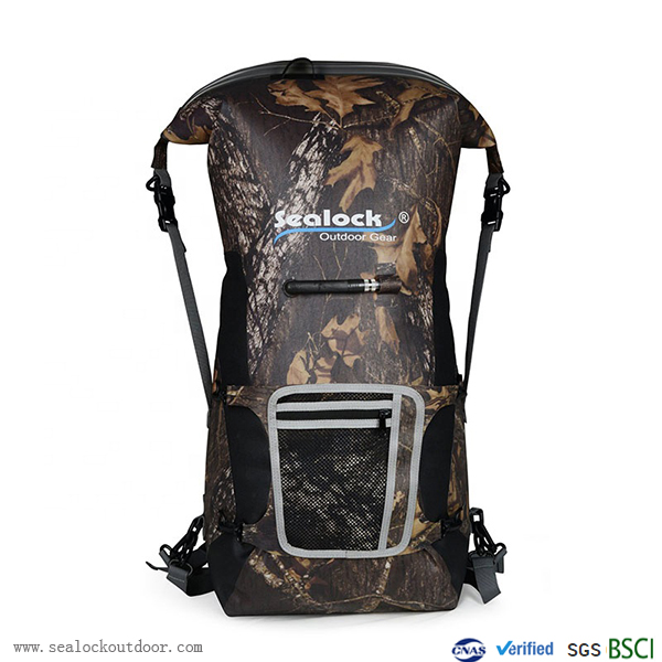Waterproof Backpack With Airtight Zipper