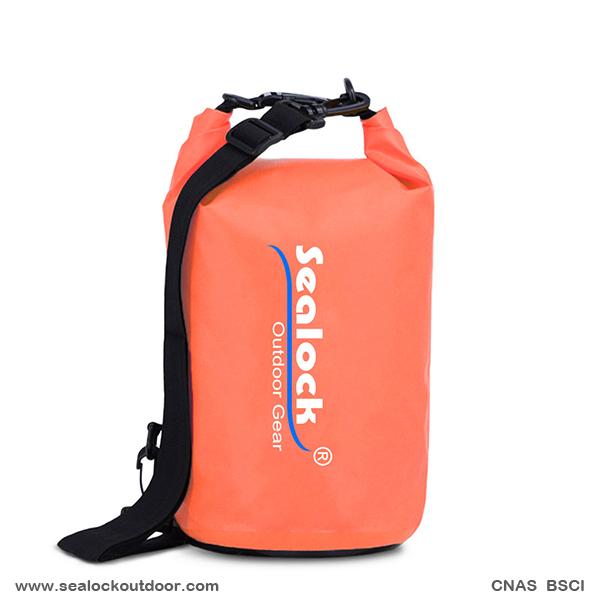 5L PVC Водоустойчив тръба сух чанта За плаж
