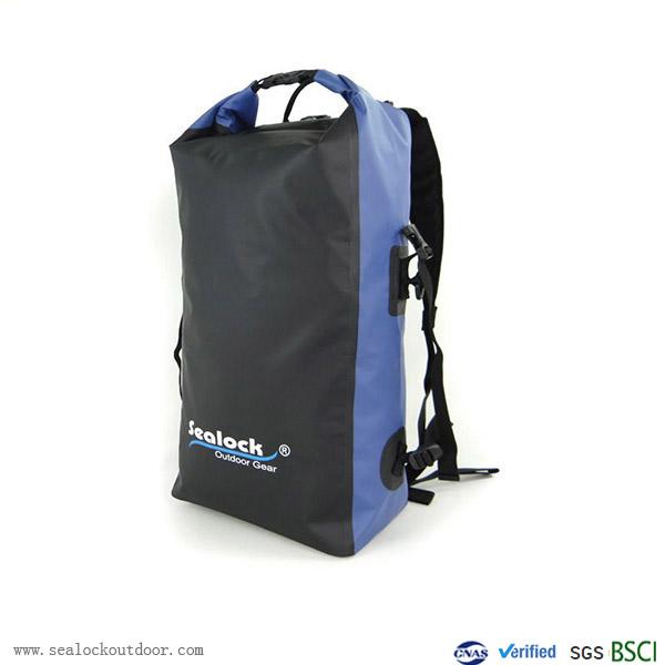 30liter नीला जलरोधक बैग