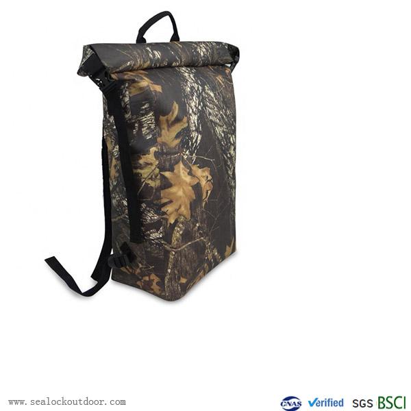 TPU Camouflage Waterproof Backpack