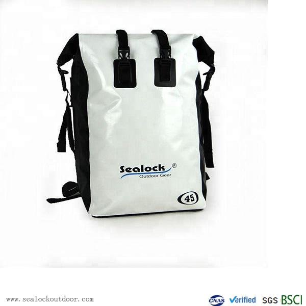 White PVC Waterproof Backpack