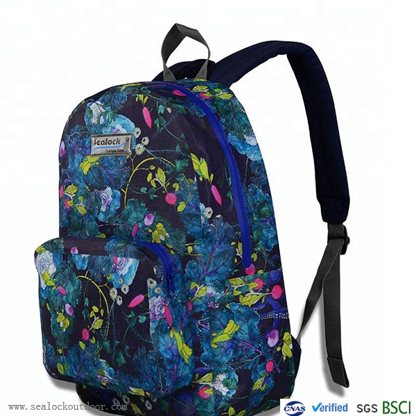 Waterproof Camouflage School Backpack