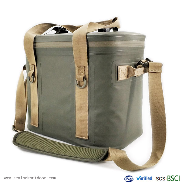 Waterproof Cooler With Airtight Zipper